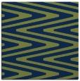 rug #758701 | square blue stripes rug