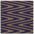 rug #758773 | square blue-violet stripes rug