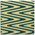 rug #758869 | square yellow stripes rug