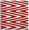 rug #758913   square red stripes rug