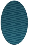 rug #759066 | oval stripes rug