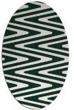 rug #759151 | oval stripes rug
