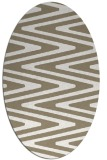 rug #759157 | oval stripes rug