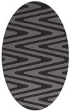 rug #759168 | oval stripes rug