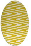 rug #759317 | oval white rug