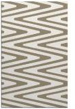 rug #759369 |  white stripes rug