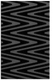 rug #759377 |  black stripes rug
