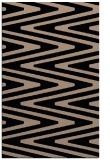 rug #759381    black stripes rug