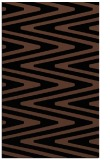rug #759385 |  black stripes rug