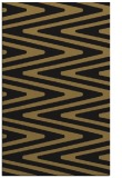rug #759389 |  black stripes rug