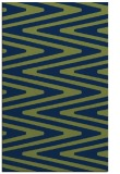 rug #759405 |  green stripes rug