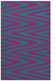 rug #759433 |  pink stripes rug