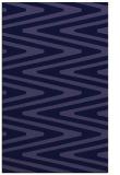 rug #759453 |  blue-violet stripes rug