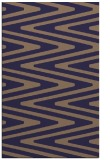 rug #759477 |  blue-violet stripes rug