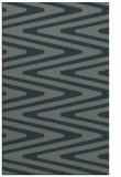 rug #759497 |  green stripes rug