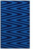 rug #759537 |  blue stripes rug
