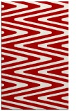 rug #759609    red stripes rug