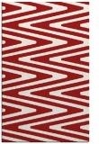 rug #759617    red stripes rug