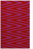 rug #759621 |  red stripes rug