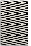 rug #759641 |  black stripes rug