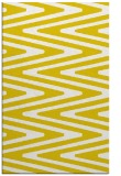 rug #759669 |  yellow stripes rug