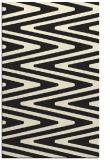 rug #759677    black stripes rug