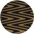 rug #759741 | round black popular rug
