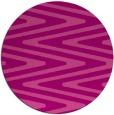 rug #759929 | round pink rug