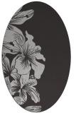 rug #760977 | oval red-orange natural rug