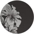 rug #761681 | round red-orange natural rug