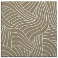 rug #764081 | square mid-brown abstract rug