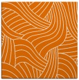 rug #764133 | square orange abstract rug