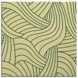 rug #764145 | square blue-green rug