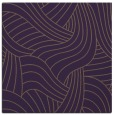 rug #764173 | square purple abstract rug