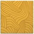 rug #764245 | square yellow abstract rug
