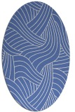 rug #764329   oval blue popular rug