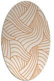 rug #764557 | oval abstract rug