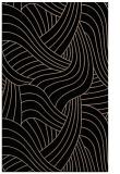 rug #764649 |  black abstract rug
