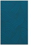 rug #764717 |  blue abstract rug