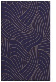 rug #764745    blue-violet abstract rug