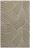 rug #764777    mid-brown abstract rug