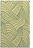 rug #764841 |  yellow abstract rug