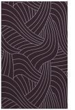 rug #764873 |  purple abstract rug