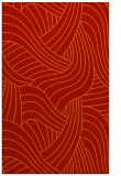 rug #764881 |  orange abstract rug