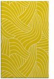 rug #764937 |  yellow abstract rug