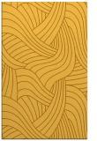 rug #764941 |  yellow abstract rug