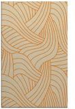 rug #764953 |  orange abstract rug