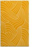 rug #764973 |  light-orange abstract rug