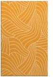 rug #764985 |  light-orange abstract rug