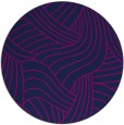 rug #765013   round blue abstract rug